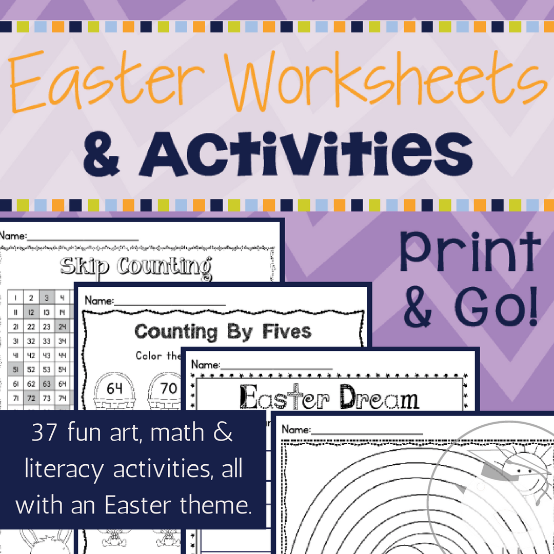 Easter Worksheets And Activities