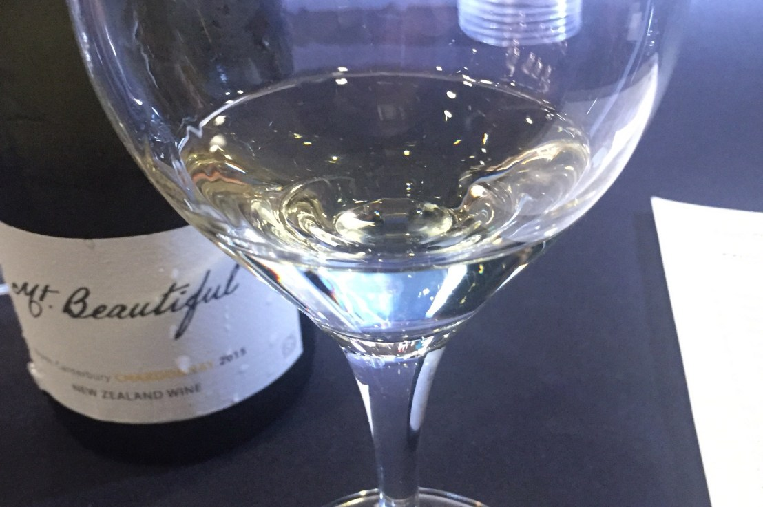 Live wine blogging