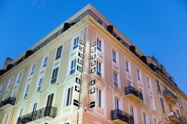 Hotel 64 nice topofhotel โรงแรม ที่พัก นีซ 1