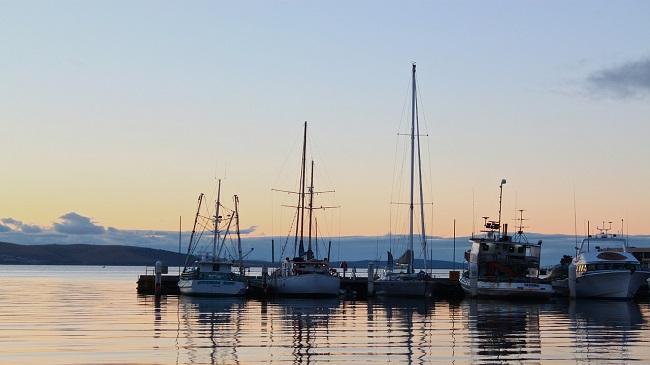 เมืองโฮบาร์ต (Hobart) ประเทศออสเตรเลีย (Australia) โรงแรม ที่พัก pantip topofhotel hotel