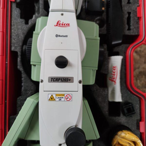 Leica station robotisée TCRP1203+ R1000 géocom étendu.
