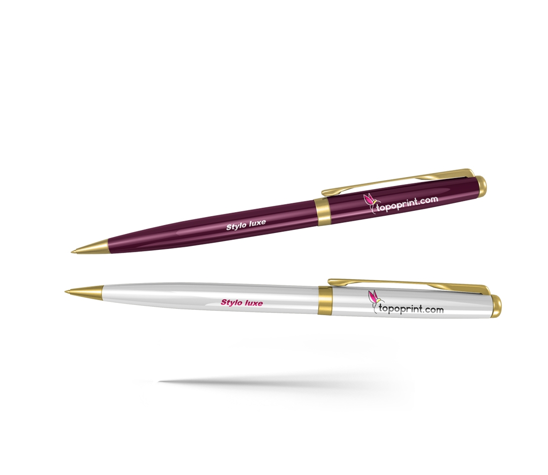 Impression Stylo bille luxe