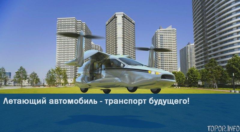 В будущее на летающем автомобиле