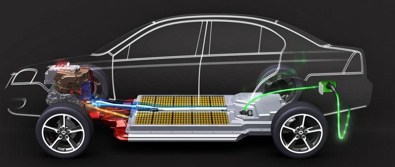 TeslaMotors Model S конструкция