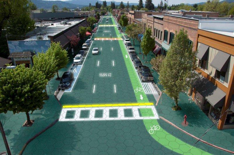 Концепт Solar Roadways