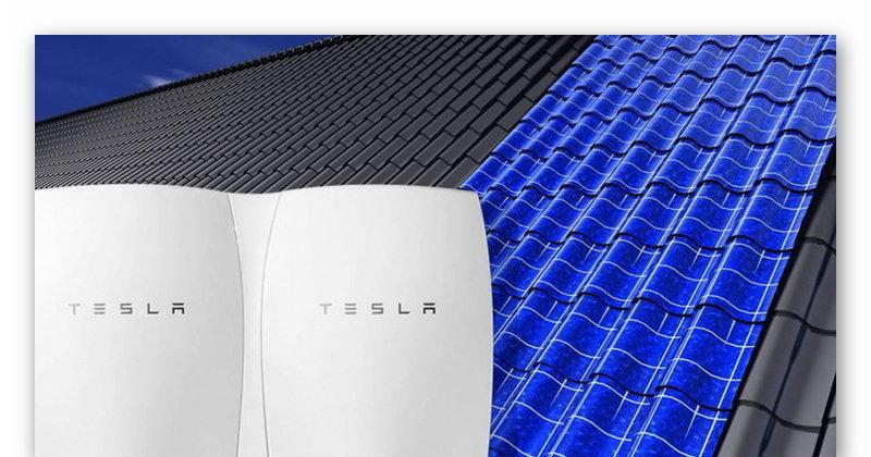 Солнечная крыша и аккумуляторы