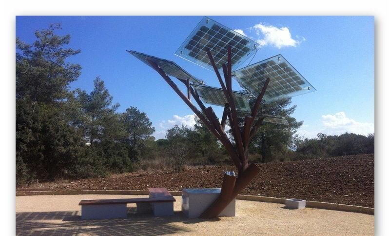 Солнечное дерево eTree в Израиле