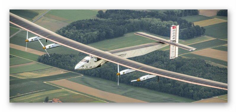 Самолёт на солнечных батареях Solar Impulse 2
