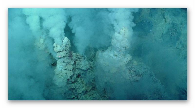Гидротермальные отверстия на дне