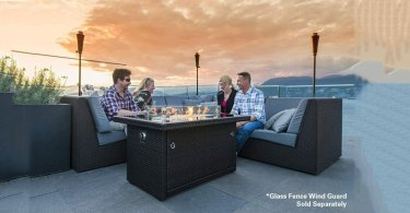 Propane fire pit table reviews