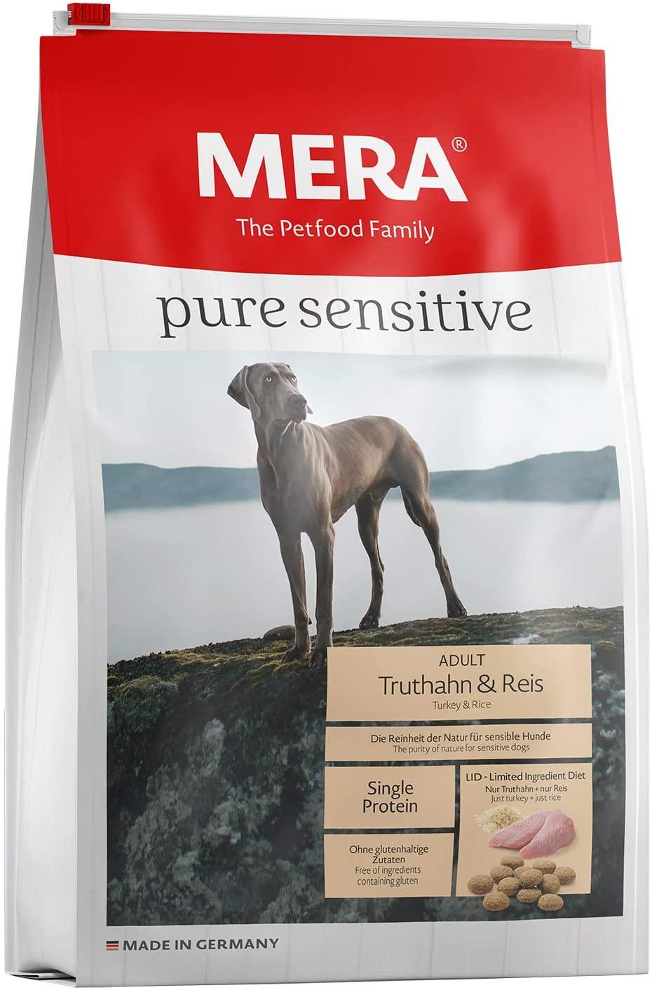 Pienso Meradog Pure con pavo y arroz