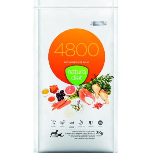 Pienso Nature Diet 4800 con una alta digestibilidad para tu peludo.