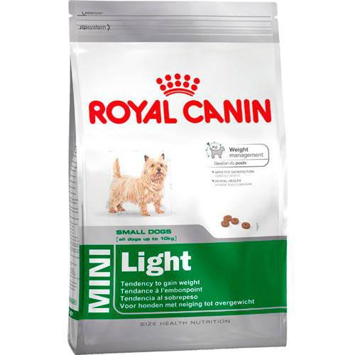 Pienso Royal Canin Mini Light para perros pequeños con tendencia a engordar