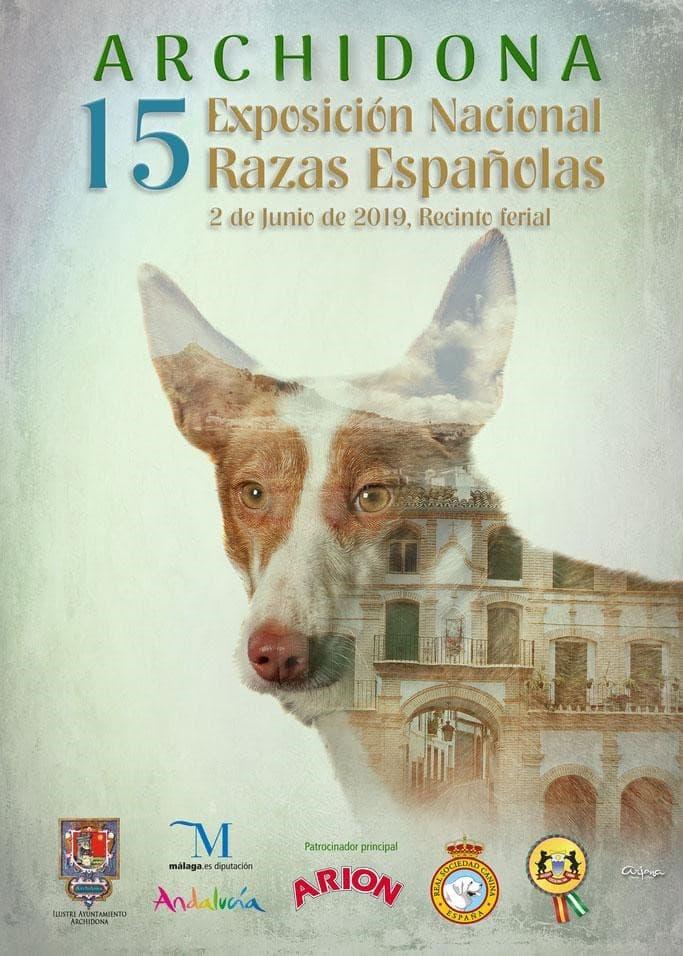 Exposición canina en Archidona, Málaga 2019