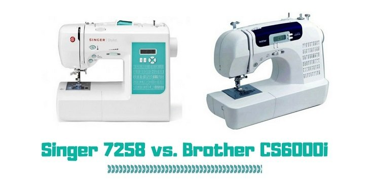Singer 40 Vs Brother CS40i What Is The Best Sewing Machine Fascinating Which Sewing Machine Is Better Singer Or Brother