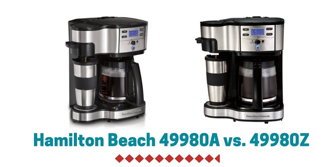Hamilton Beach 49980A vs. 49980Z Reviews (What is The Best Coffee Maker?)