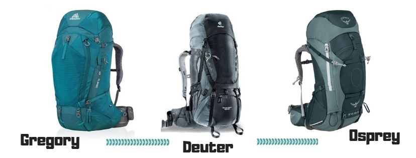 Gregory vs. Osprey vs. Deuter (What is The Best Backpack?)