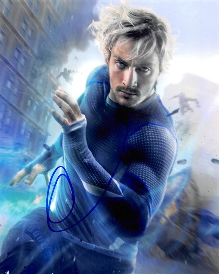 AARON TAYLOR-JOHNSON - Avengers: Age of Ultron AUTOGRAPH ...