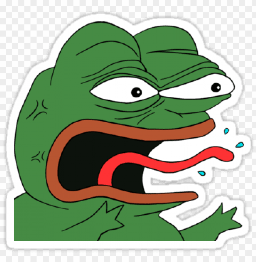 Angry Pepe Png Pepe Angry Png Image With Transparent Background