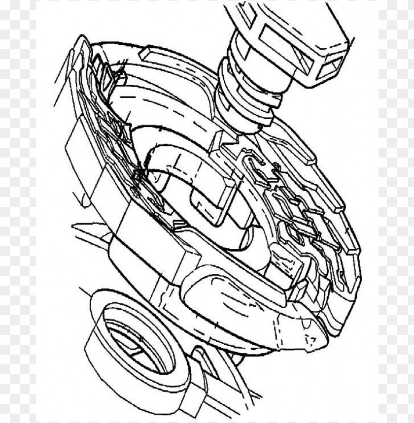 Beyblade Coloring Pages Color Png Image With Transparent Background Toppng