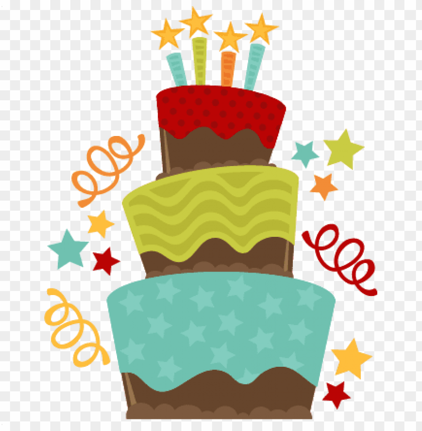 Birthday Cake Transparent Png Birthday Cake Clip Art Png Image With Transparent Background Toppng