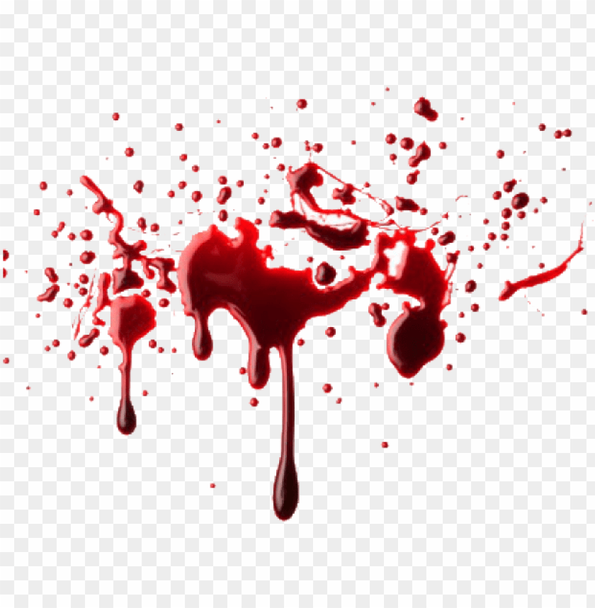 Blood Splatter Png Image With Transparent Background Toppng