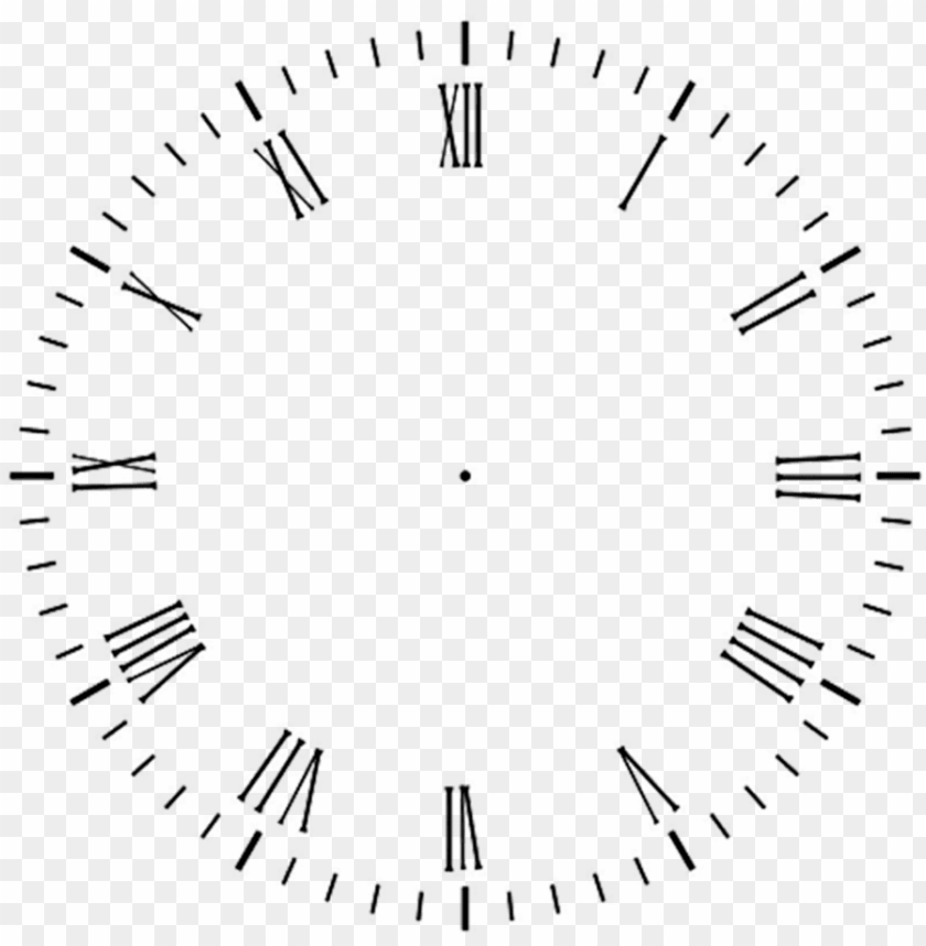 Clock Face Template For Clock Hands Png Image With Transparent Background Toppng