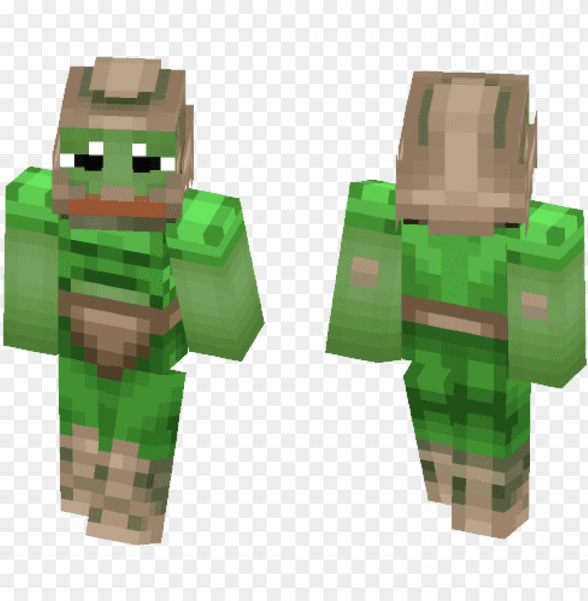 Doom Guy Pepe Minecraft Skin Joker Png Image With Transparent