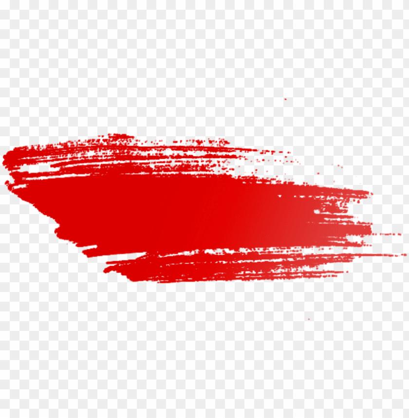 Ftestickers Paint Splatter Brushstroke Red Paintbrush Png Image
