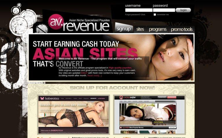 AV Revenue - top Porn Affiliate Network