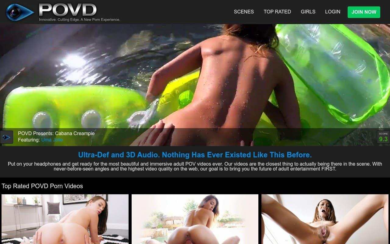 POVD - top VR Porn Sites
