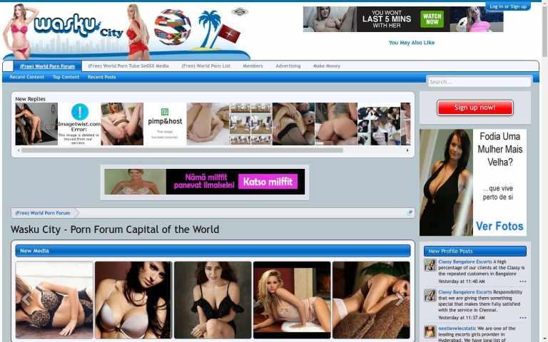 Waskucity - top Porn Forum Sites