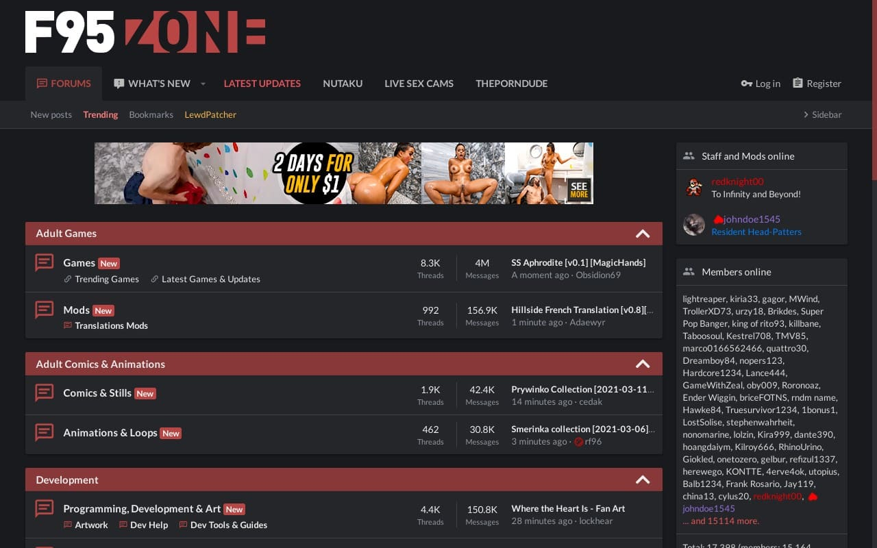 F95Zone - top Porn Forums