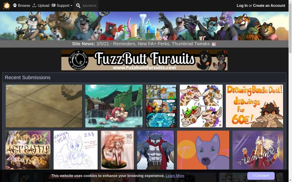 Furaffinity - top Hentai Porn Sites
