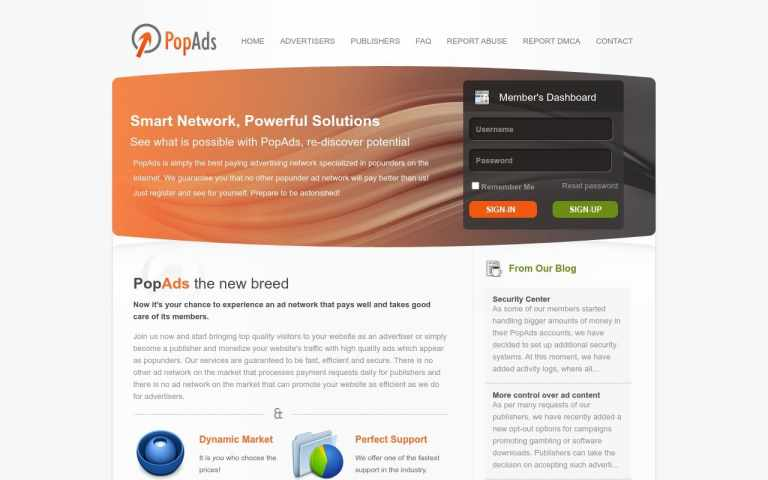 Popads - top Adult AD Networks