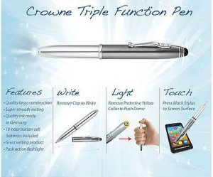 Top 10 Best Stylus Pens With Flash Light 2017 Review