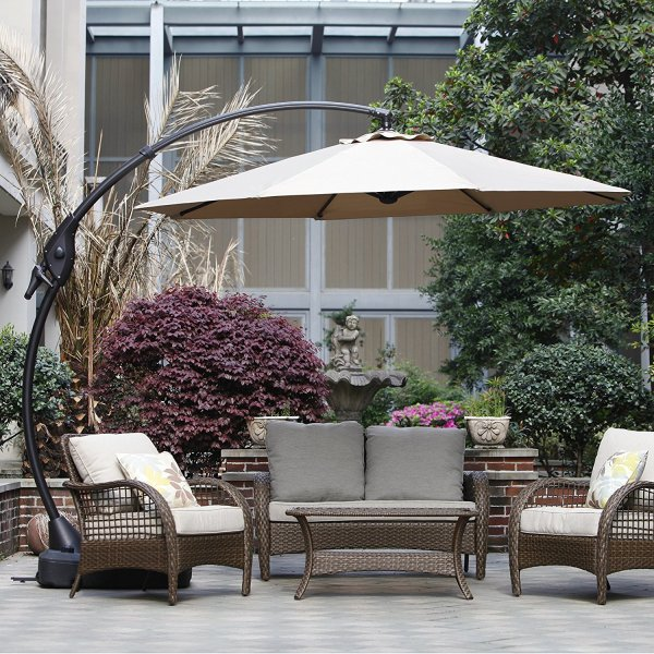 top 3 best offset patio umbrella 2017
