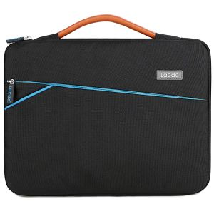Lacdo 360° Protective Laptop Sleeve Case Briefcase Compatible 13 Inch New MacBook Pro Touch Bar 1989 A1706 A1708