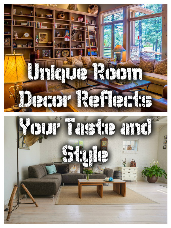 Unique Room Decor Reflects Your Taste and Style