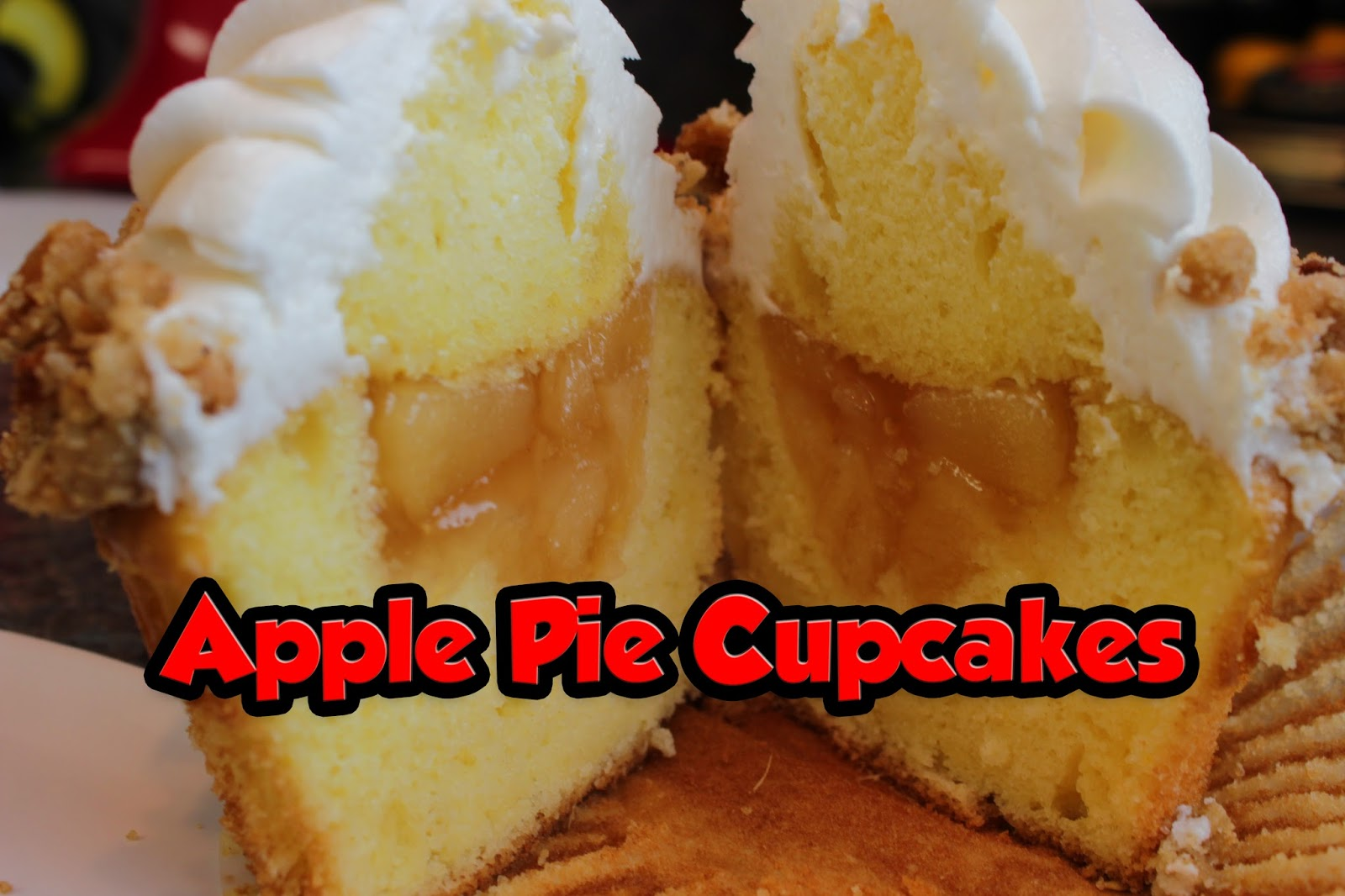 "Apple Pie Cupcake Recipe from Disney World's ""Limited Time Magic"" (4th of July)"