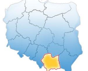 Małopolska mapa