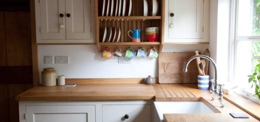 mała kuchnia w stylu skandynawskim