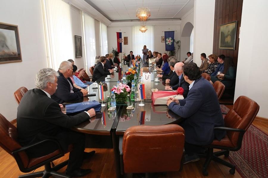 Председник општине угостио делегације пријатељских градова и општина