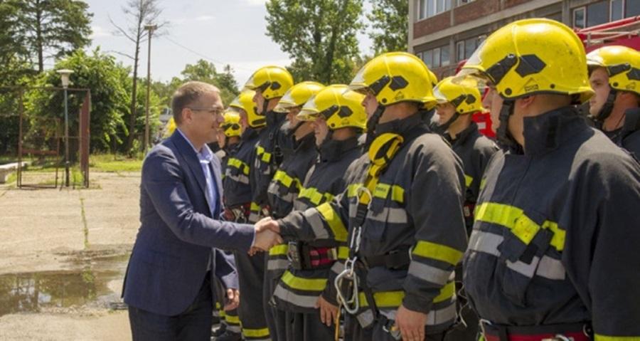 Стефановић: Већа улагања у Сектор за ванредне ситуације