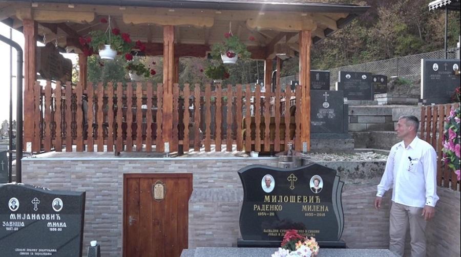Са само 43 године себи саградио гробницу: Дејан за онај свет припремио апартман на два спрата (ВИДЕО)