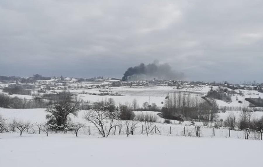 Пожар на фарми кокошака у Шаторњи, причињена велика материјална штета