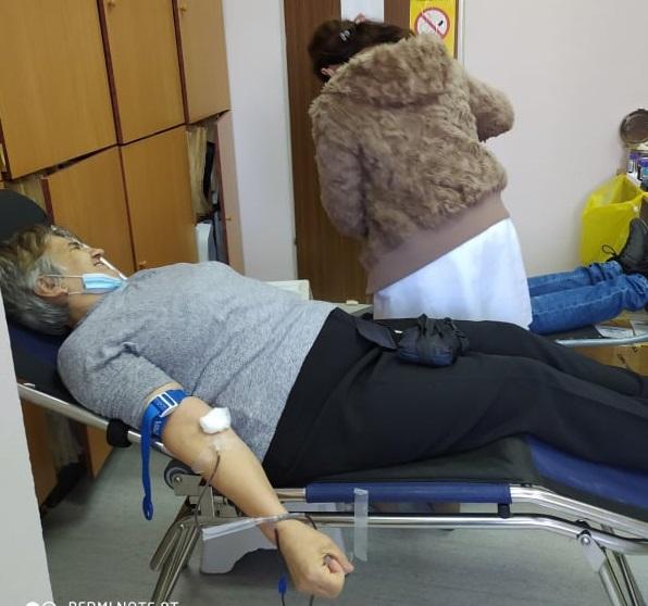 Успешно спроведена акција добровољног давања крви у Тополи, прикупљено 55 јединица драгоцене течности