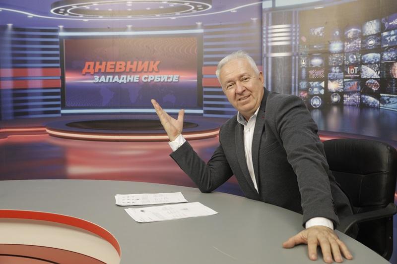Вечерас креће Дневник западне Србије (ВИДЕО)