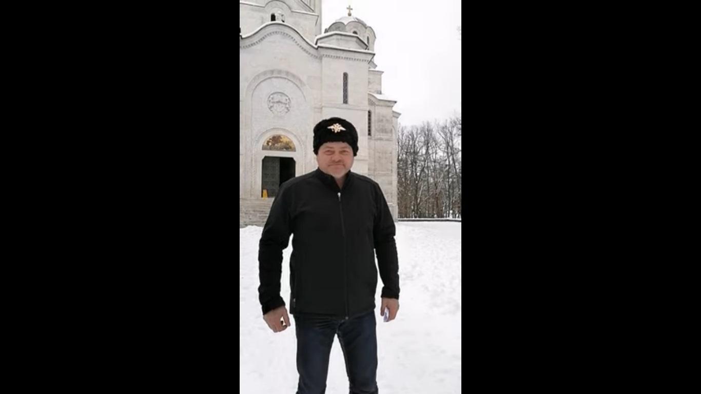 Козачки пуковник из Тополе и добитник највиших признања Руске федерације учествовао у онлајн представљању Србије (ВИДЕО)