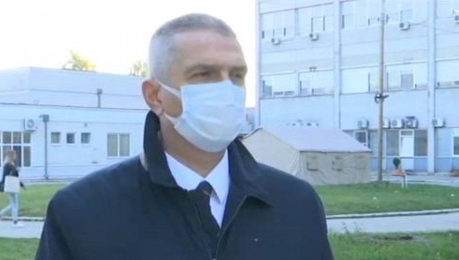 Саздановић: У Шумадији и Крагујевцу расте број заражених корона вирусом